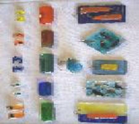 Glasschmuck aus der Glashütte Annenwalde